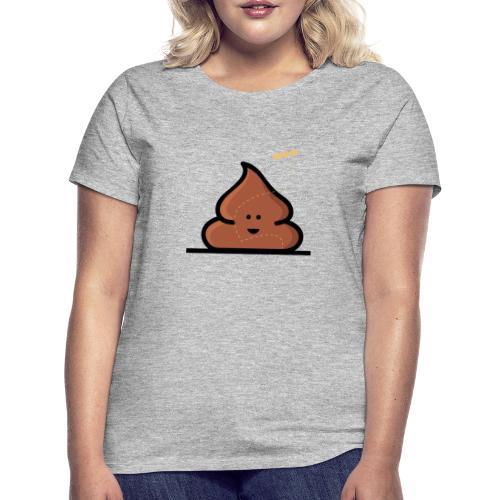 Kacka mit Fliege - Frauen T-Shirt