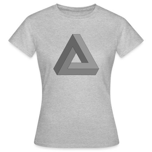 Unmögliches Dreieck - Frauen T-Shirt