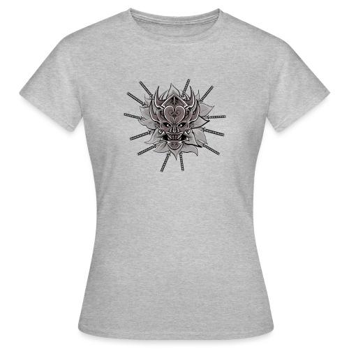 Lotus Of The Samurai - Vrouwen T-shirt
