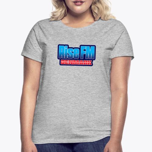 Rise FM Denmark Text Only Logo - Dame-T-shirt