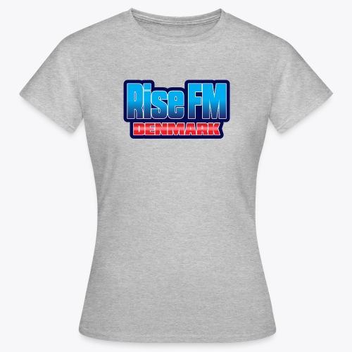 Rise FM Denmark Text Only Logo - Women's T-Shirt