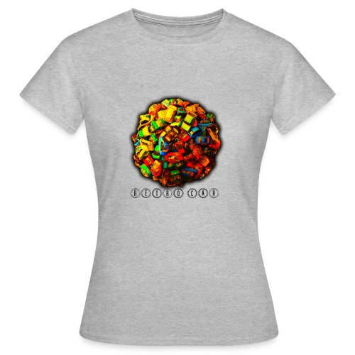 autos retro - Camiseta mujer