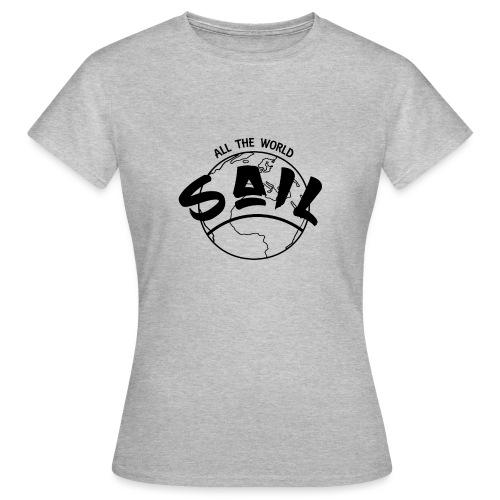 planette_terre_SAIL_ - T-shirt Femme