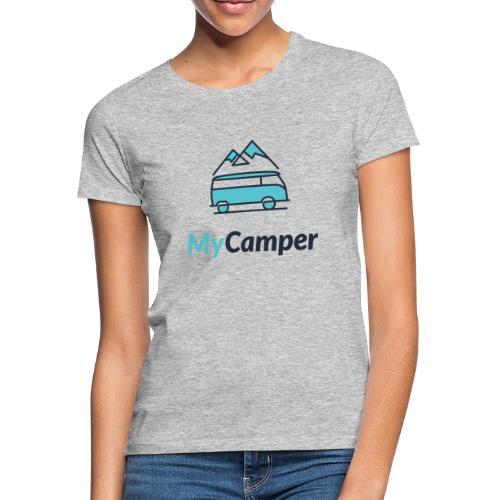 MyCamper Logo Classic - Frauen T-Shirt