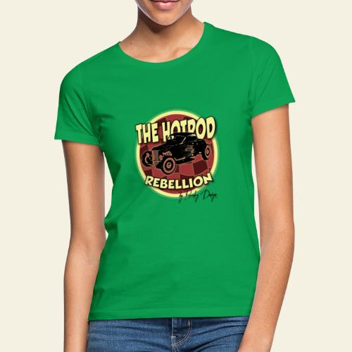 hotrod rebellion - Dame-T-shirt