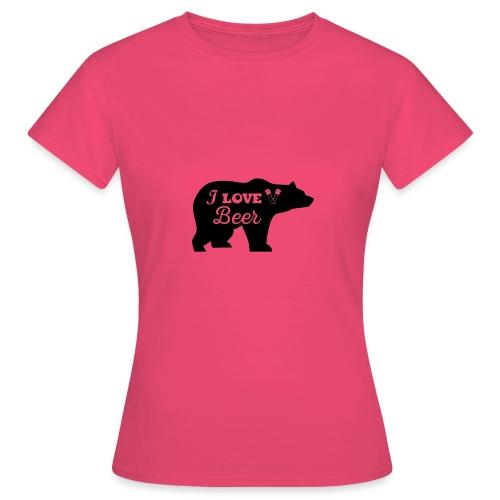 love beer - Vrouwen T-shirt