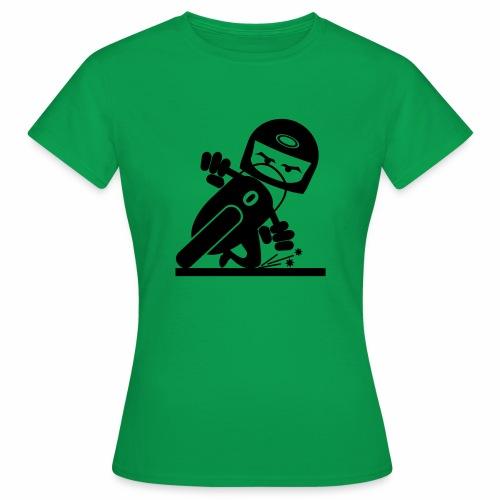 Motorcycle slider - Women's T-Shirt