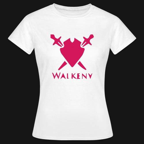 Das Walkeny Logo mit dem Schwert in PINK! - Frauen T-Shirt