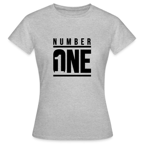 Number ONE - Camiseta mujer
