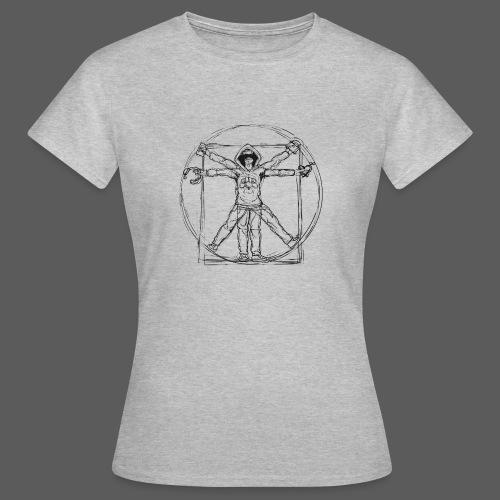 The Vitruvian Gamer - Frauen T-Shirt