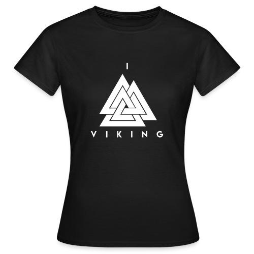 I lov Viking White - T-shirt Femme