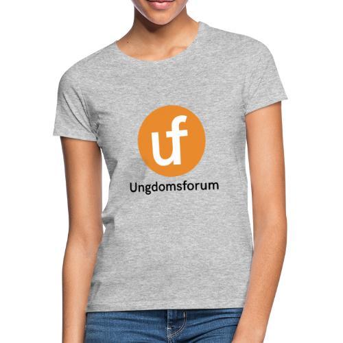 UF logo - T-skjorte for kvinner