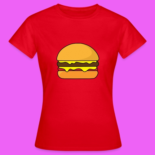 Tasty Burguer - Camiseta mujer