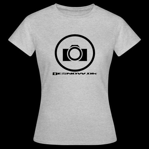 sort2 png - Dame-T-shirt