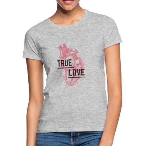 True Love - Maglietta da donna