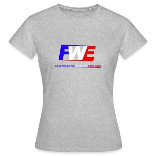 Logo Slogan png - T-shirt Femme