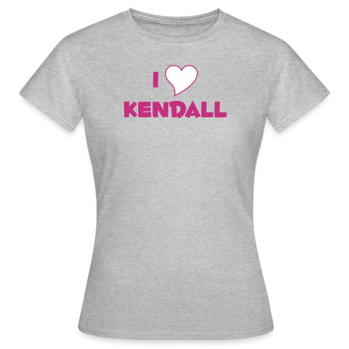 I Heart Kendell - Women's T-Shirt