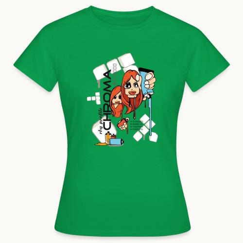Chroma - T-shirt Femme