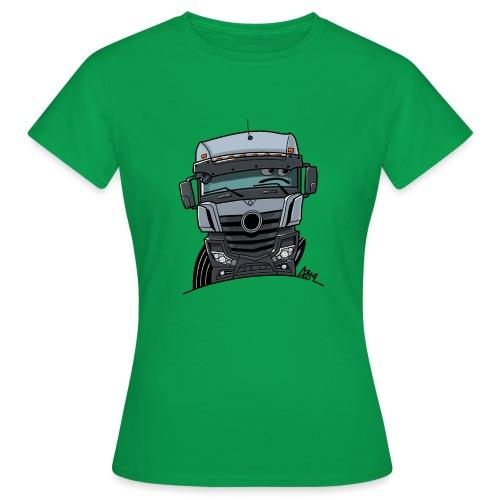 0807 M Truck grijs - Vrouwen T-shirt