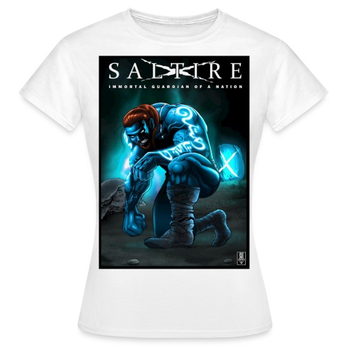 Saltire Invasion1 - Women's T-Shirt