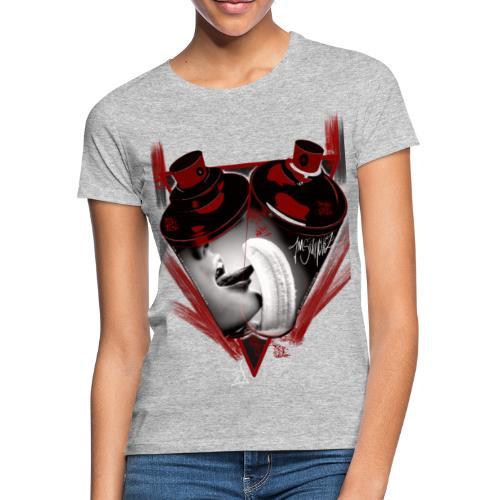grafiti - Camiseta mujer