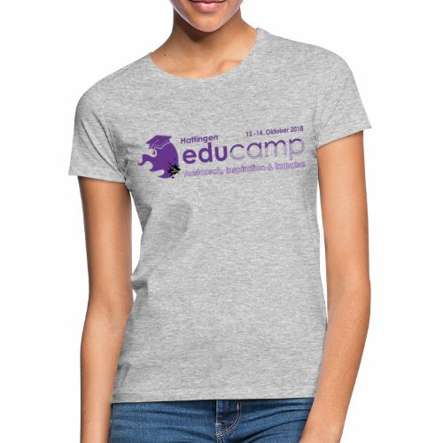 Logo_echat18_pfade_ganzne - Frauen T-Shirt