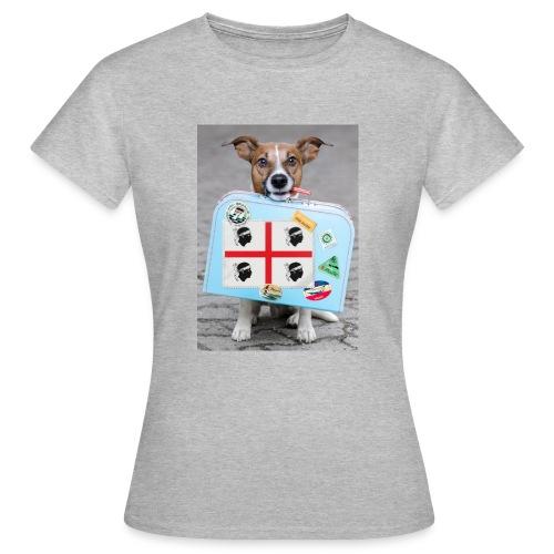 Quattro Mori cane - Maglietta da donna