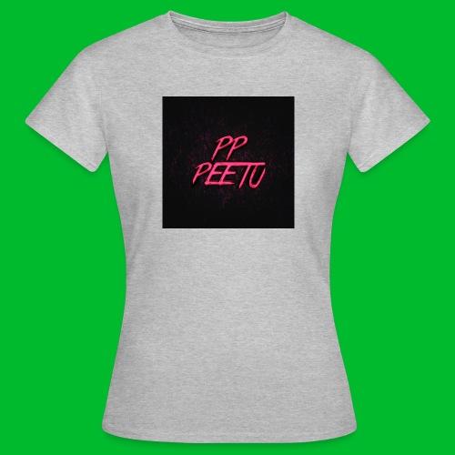 Ppppeetu logo - Naisten t-paita