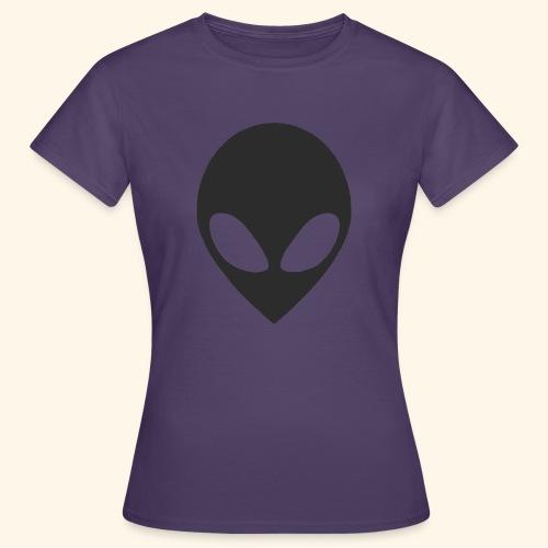 alien hoofd - Vrouwen T-shirt