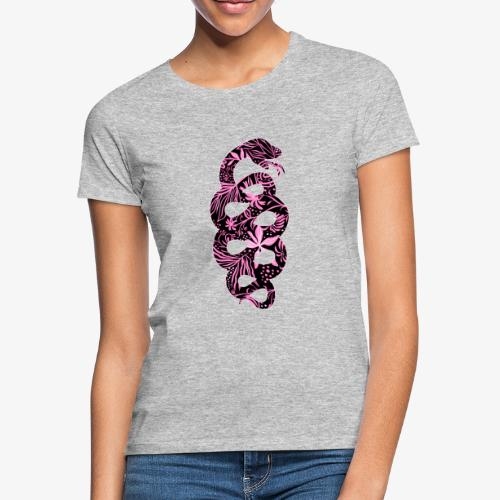 Flower Snake IV - Naisten t-paita
