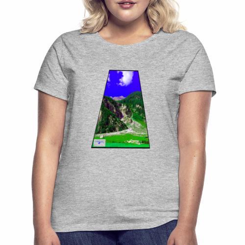 BergAUsBlick ValC - Frauen T-Shirt