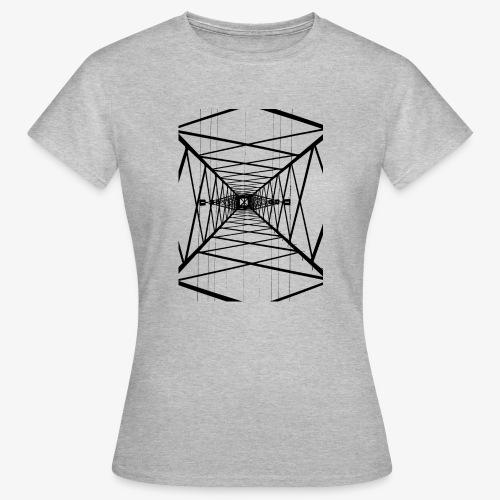 Hochmast V2 Schwarz - Frauen T-Shirt