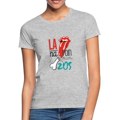 la langue na poin le zos 974 - T-shirt Femme