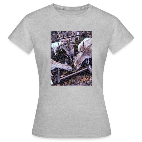 Retro Deers - Frauen T-Shirt