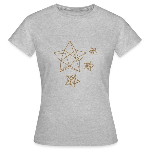 Sternenhimmel Diamant - Frauen T-Shirt