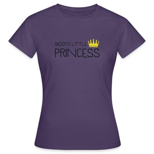 Daddy's little Princess - Frauen T-Shirt