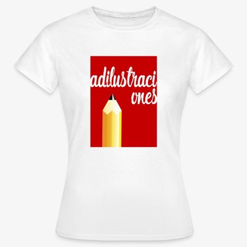 Ad ilustraciones Rojo - Camiseta mujer