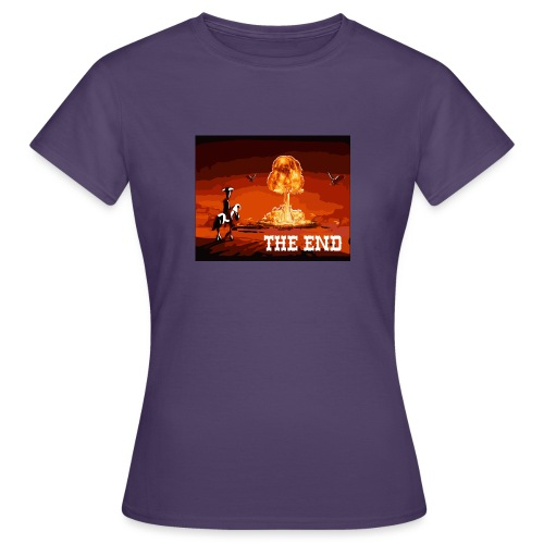 THE END (version 2 : pour toute couleur de fond) - T-shirt Femme
