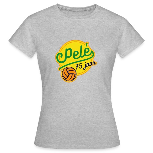 Logo 75 jaar Pelé - Vrouwen T-shirt