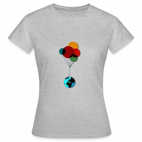 EARTH & BALLOONS - T-shirt Femme