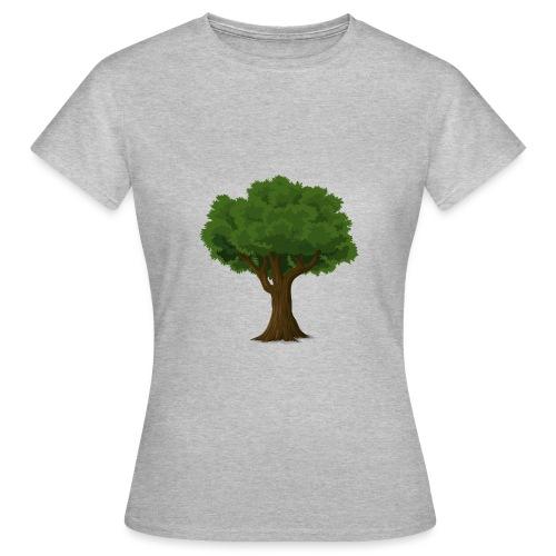 Ek träd - T-shirt dam