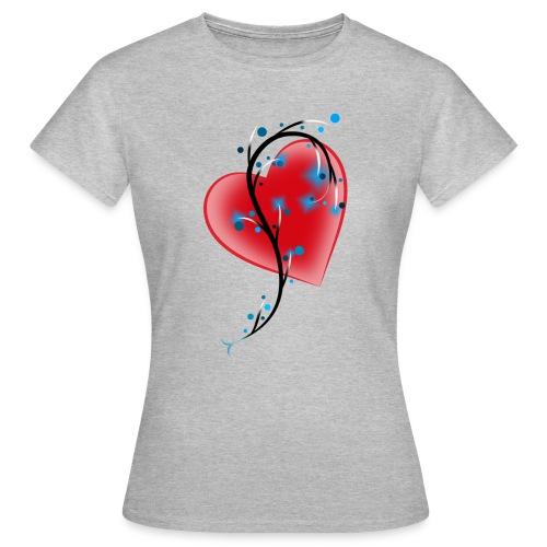 coeur et racines - T-shirt Femme