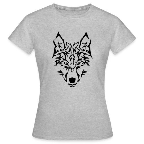 Tribal Wolf - T-shirt Femme