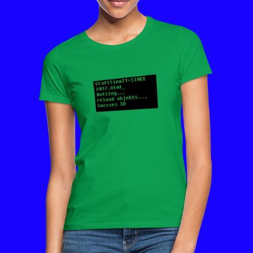 Crafttino21 Booting dising - Frauen T-Shirt