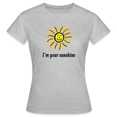 2i m youre sunshine Gelb Top - Frauen T-Shirt