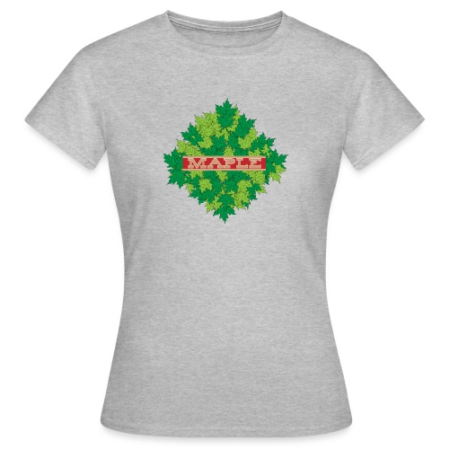 maple - Frauen T-Shirt