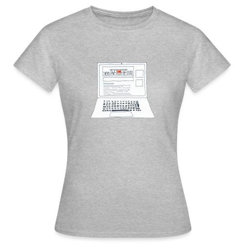 Laptop 20CENT Retail - T-shirt Femme