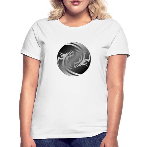 Yin Yang Dragon - Women's T-Shirt