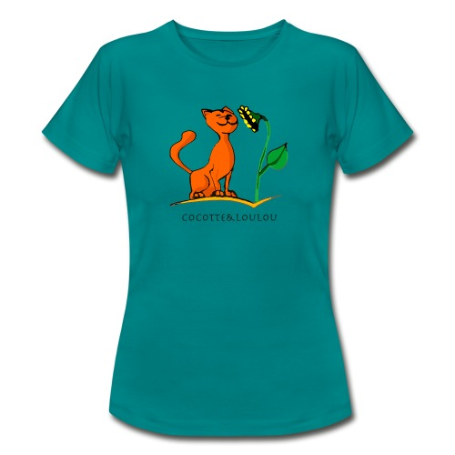 Sunny le chat - T-shirt Femme