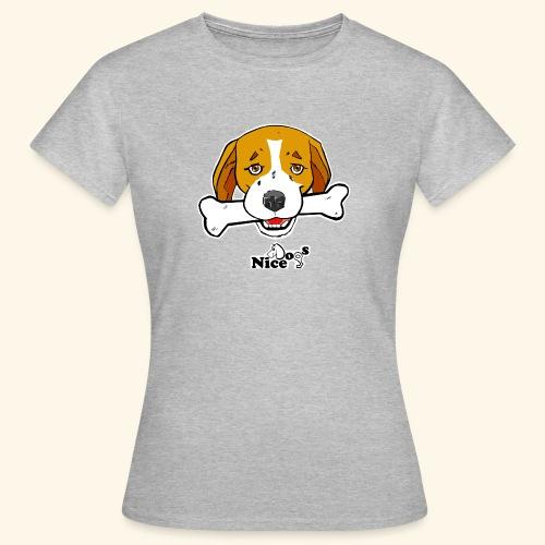 Nice Dogs Semolino - Maglietta da donna